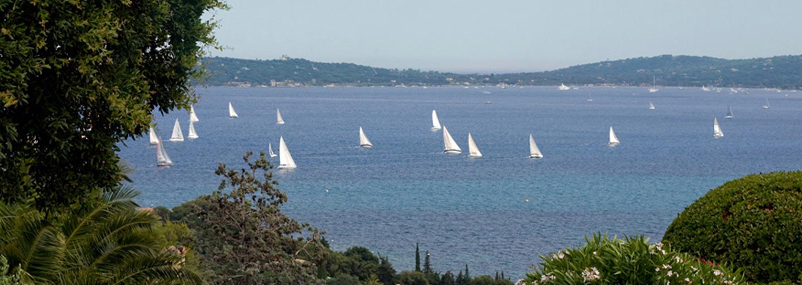 Vue mer Saint Tropez