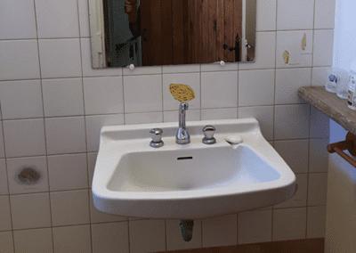Toillette et douche Mas de Guerrevieille