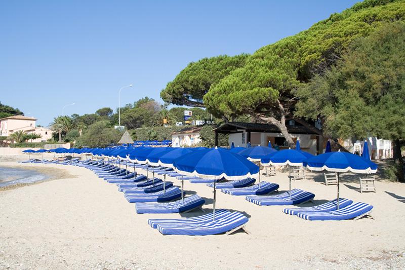 Mas private beach