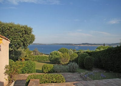 Holiday rental house in Ste Maxime on the French Riviera