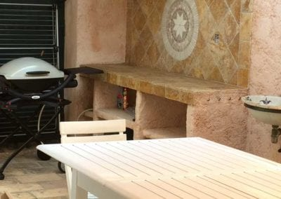 Outdoor kitchen Mas de Guerrevieille