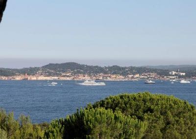 Saint Tropez from Mas de Guerrevieille